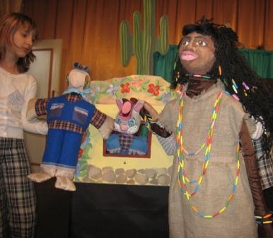 куклы к спектаклю и Полякова Александра
